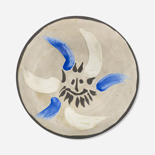 Pablo Picasso, 'Little Face No. 12 plate', 1963, Rago/Wright