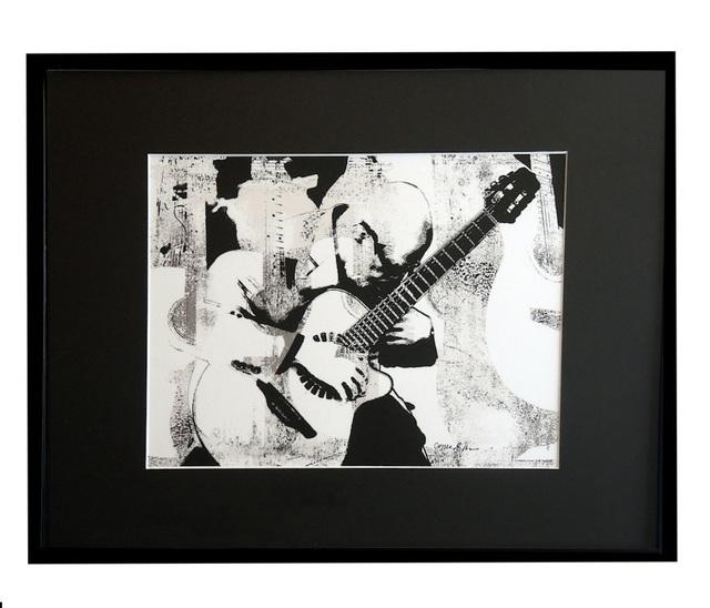 Jane Sklar, 'Guitar Man', 2020, Photography, Digital Photography Collage, The Galleries at Salmagundi