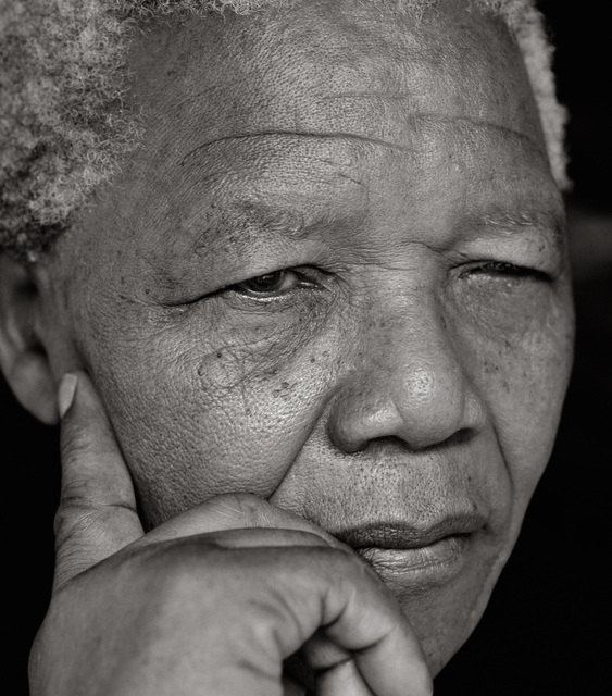 , 'Nelson Mandela,' 1994, CAMERA WORK