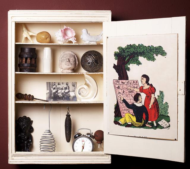 , 'Medecine cabinet of mysteries,' 2013, In Situ - Fabienne Leclerc