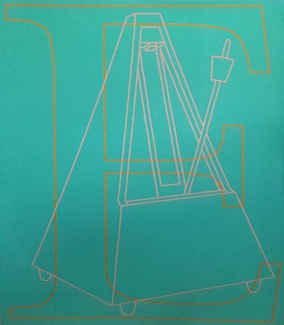 Michael Craig-Martin, 'E', 2007, Tanya Baxter Contemporary