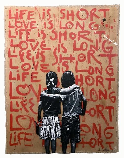 Jef Aérosol, 'Life is short', 2019, David Pluskwa