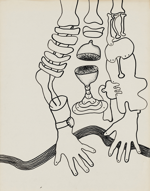 , 'Untitled (Still-life with body parts),' ca. 1964, KÖNIG GALERIE