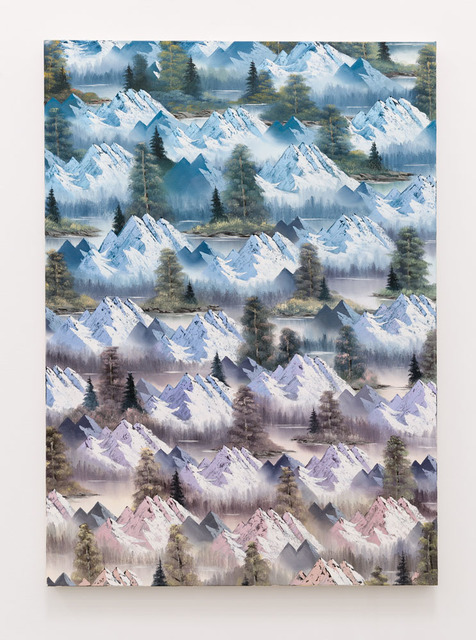 , 'Graceful Mountains,' 2015, Anat Ebgi