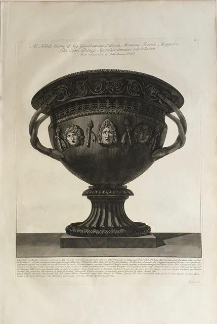 , 'Large Basalt Vase with Masks,' 1778-1780, Pia Gallo