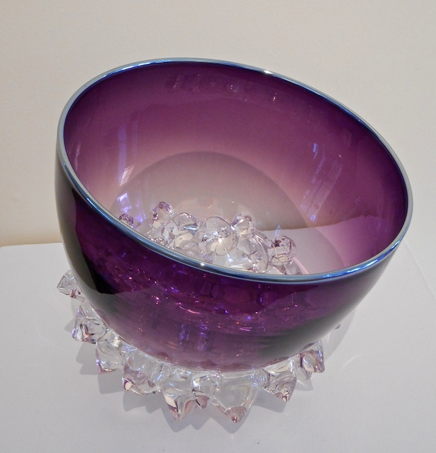 , 'Medium Thorn Vessel Plum | Silver,' , Water Street Gallery