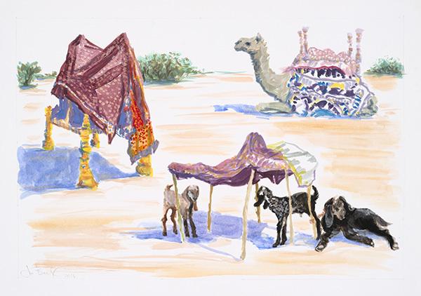 , 'Rabari Camp - Edge of the Rann Desert,' 2016, MARS