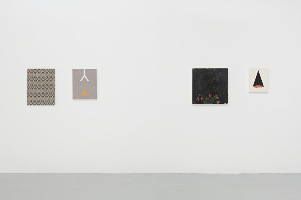installation view: A Summer Painting Show, curated by Cleopatra's, New York, and Aaron Bogart, June/July 2016, PSM, Berlin