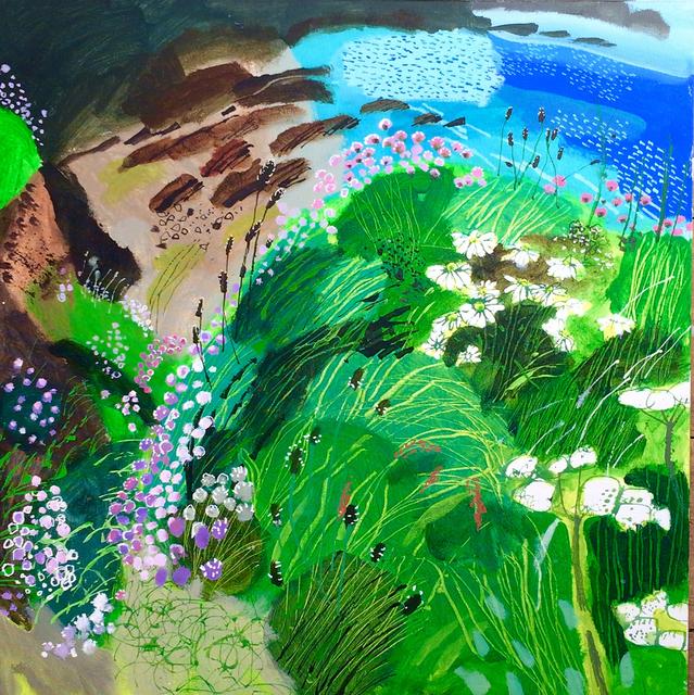 , 'Sea Thrift, Blue Bay,' 2018, Hybrid Gallery