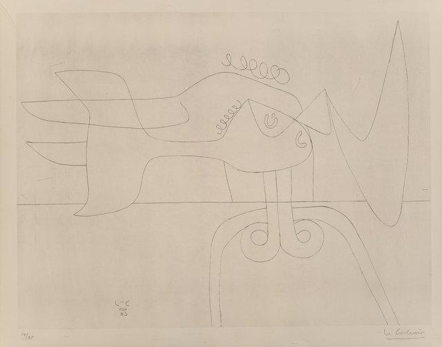 Le Corbusier, 'Autrement que sur Terre', 1963, Heritage Auctions