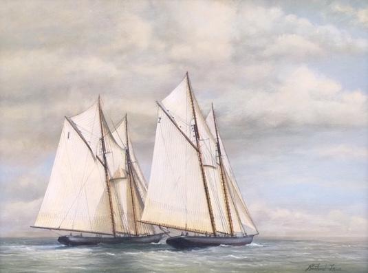 , 'Henry Ford vs. Bluenose ,' 2018, J. Cacciola Gallery