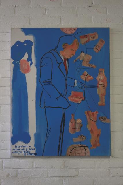 , ''Identiteit is weten wie je bent omdat je hondje je herkent',,' ca. 2011, Kers Gallery