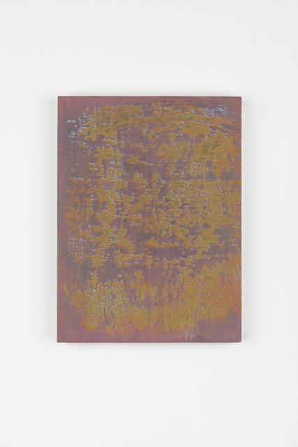 Margie Livingston, 'OLIVE OVER BLUE GREEN & ORANGE', 2018, Greg Kucera Gallery