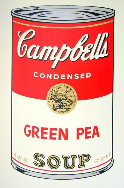 Andy Warhol, 'Campbell's Soup - Green Pea - Sunday B. Morning (After)', ARTEDIO