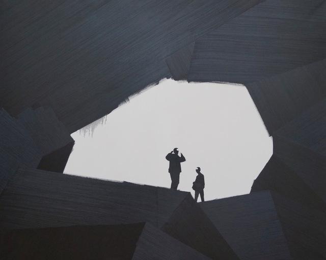 , 'Lamp Black,' 2007, Galerie Leu