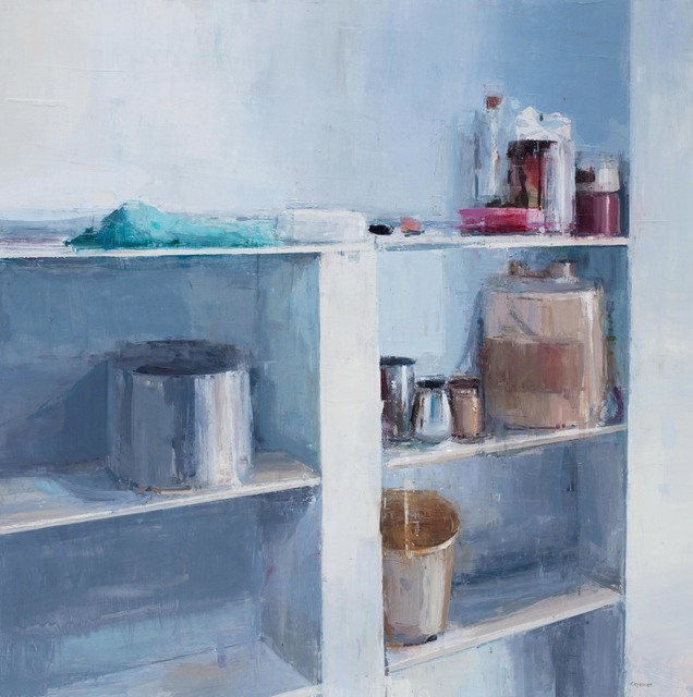 , 'Painter's Bookshelf,' 2014, Julie Nester Gallery