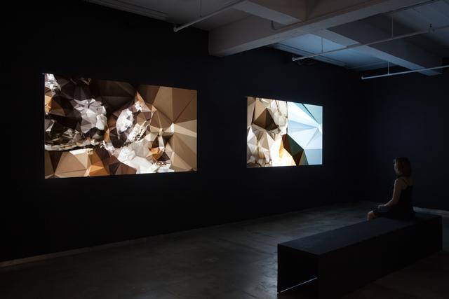 , 'Topologies, Tiepolo, Immacolata Concezione Velazquez, Las Meninas,' 2010, bitforms gallery