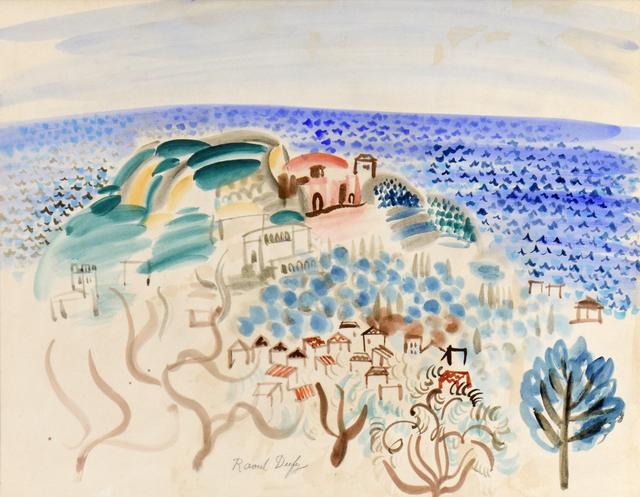 , 'Le Village au bord de la Mer,' , Stern Pissarro