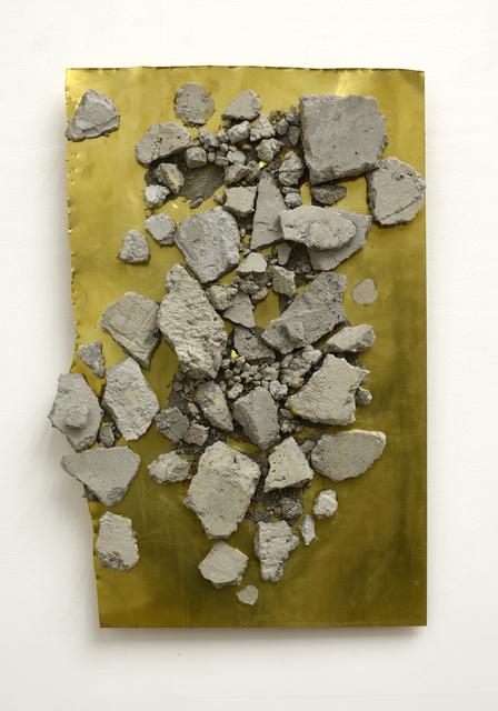 , 'Contemporary Ruin (Concrete & Brass),' 2018, Mugello Gallery