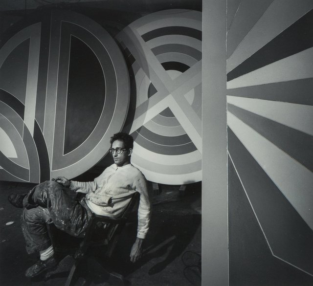 Arnold Newman, 'Frank Stella', 1967-printed later, Photography, Gelatin silver, printed later, Heritage Auctions