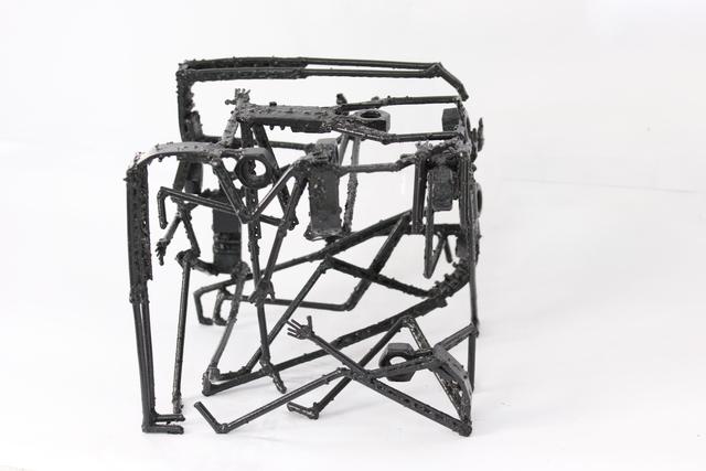 Pedro Luis Cuellar, 'Embalaje / Package', 2015, Sculpture, Steel and welding, ArteMorfosis - Cuban Art Platform