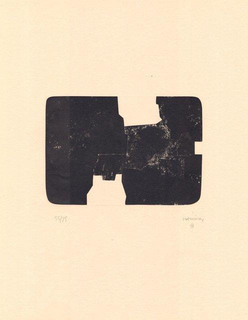 Eduardo Chillida, 'St. Gallen van der Koelen 84014', 1980-1990, ARTEDIO
