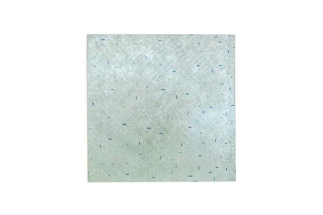 , 'trüb grau ins blau,' 2017, Galerie Klüser