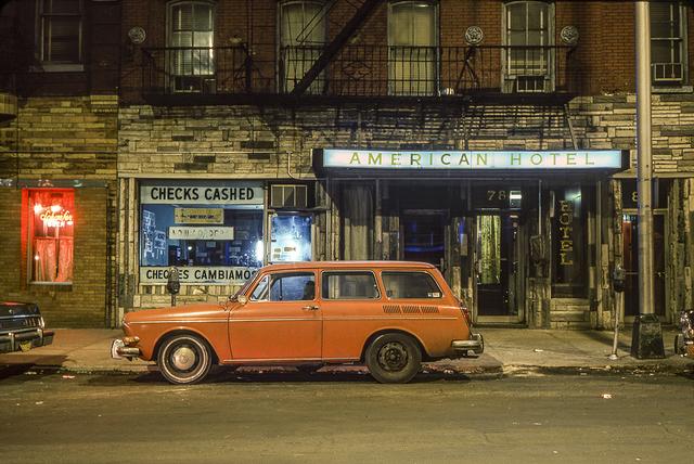 , 'American Hotel Car, Volkswagen 1600 Squareback Hoboken, NJ,' 1964, Jackson Fine Art