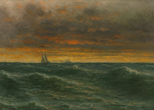 , 'Lake Michigan,' 1887, Montclair Art Museum