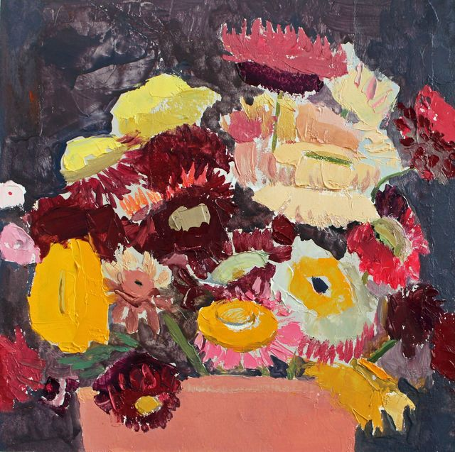 , 'Still Life with Flowers in a Pot,' 2017, Thomas Deans Fine Art