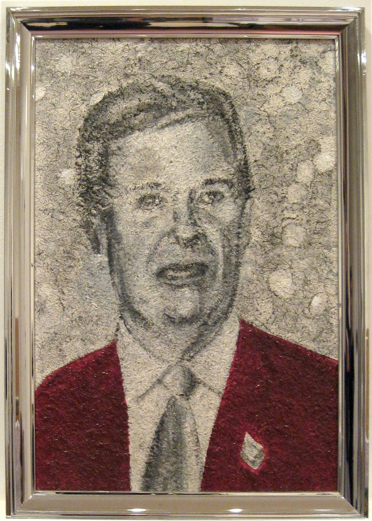 Richard Artschwager Trent, 2003, Acrylic on celotex painting in artist's frame
