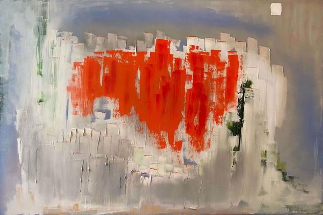 , 'Tangerine Street,' 2019, ART50.NET