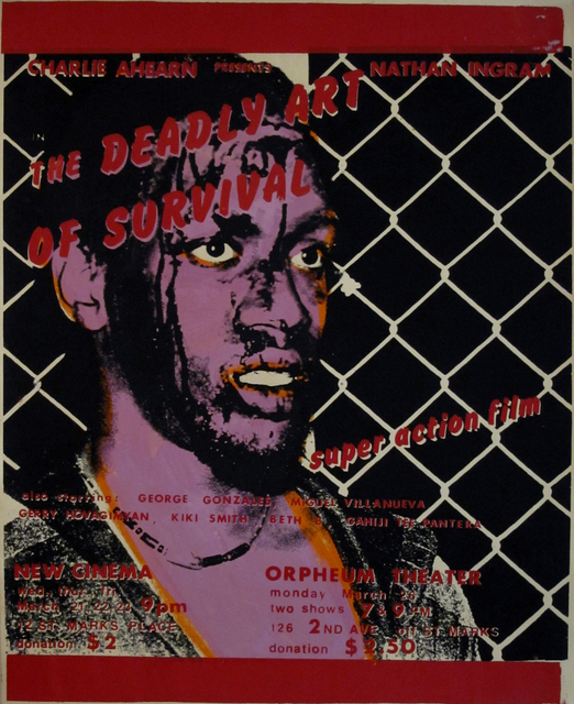 , 'Deadly Art of Survival Poster (Pink),' 1979, P.P.O.W