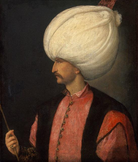 Attributed to Venetian, 'Sultan Suleiman II ', Ca. 1530, Centre for Fine Arts (BOZAR)