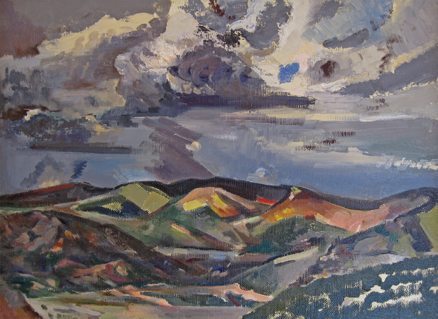 , 'Departing Storm,' 1930, Addison Rowe Gallery