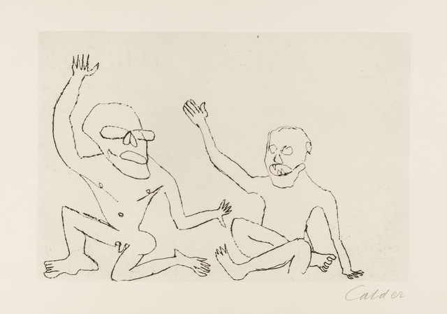 Alexander Calder, 'Santa Clause', 1974, Forum Auctions