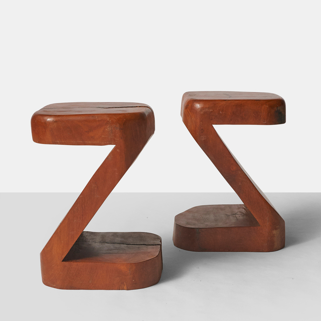 José Zanine Caldas, 'Pair of Side Tables by Jose Zanine Caldas', ca. 1970, Almond & Co.