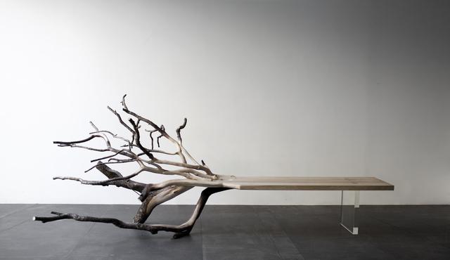 , 'Fallen Tree bench,' 2011, YMER&MALTA