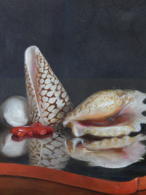 Helen Oh, 'Seashells on a Lacquer Tray', 2019, Gallery Victor Armendariz
