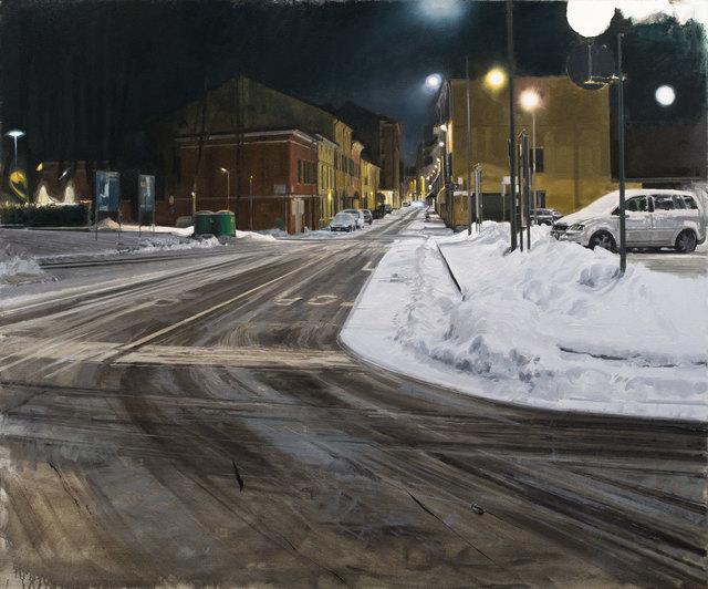 , 'Neve, ora tarda,' 2019, Galleria Punto Sull'Arte