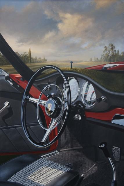 Reinhard Fluri, 'Proto 911', 2006-2018, Painting, Oil and acrylic on wood, GALERIE URS REICHLIN