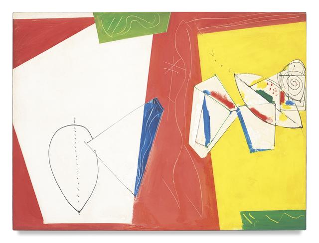 , 'Composition No. 5,' 1950, Miles McEnery Gallery