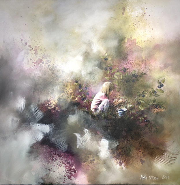 , 'Mustikkauniversumi,' 2018, Gumbostrand Konst & Form