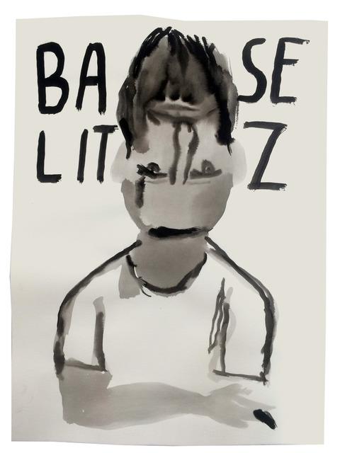 , 'Art History in 100 Drawings: Baselitz,' 2016, Sapar Contemporary