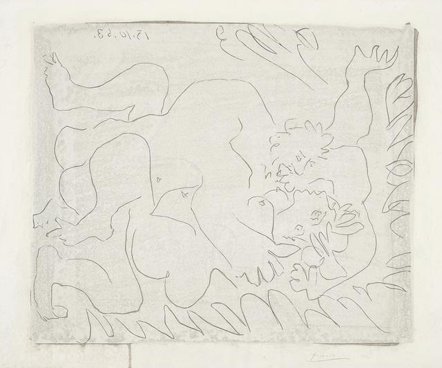 Pablo Picasso, 'L'Ètreinte I (The Embrace I)', 1963, Phillips