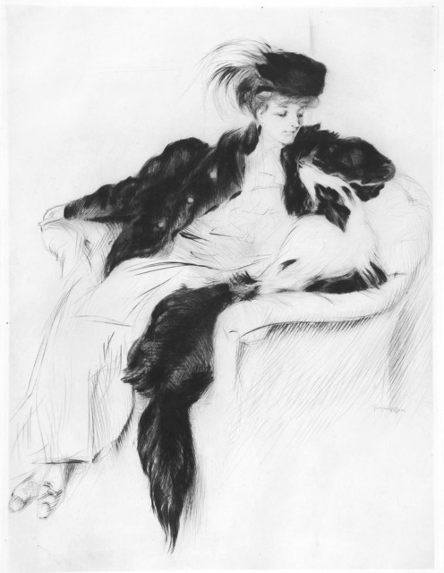 , 'La femme au Chien Collley,' 1905, R. S. Johnson Fine Art
