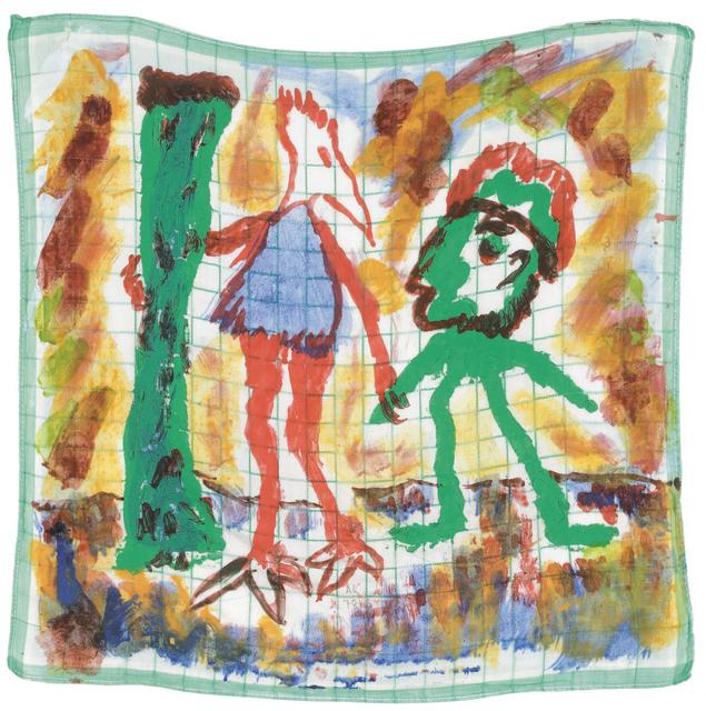 Alfred Klinkan, 'Handkerchief Painting', 1978, Galerie Bei Der Albertina Zetter