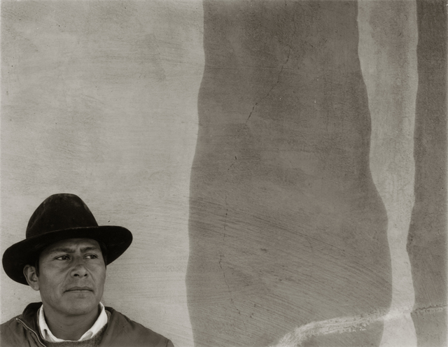 , 'A Mexican Worker at Ezequel's House, Bernalillo, NM,' 1973, Etherton Gallery