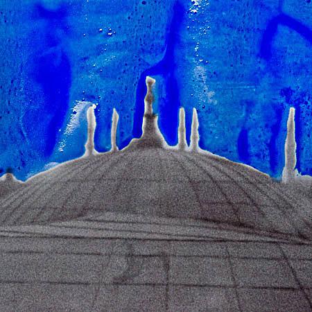 , 'Byzantine Blue (Holy Wisdom),' 2012, Anna Laudel