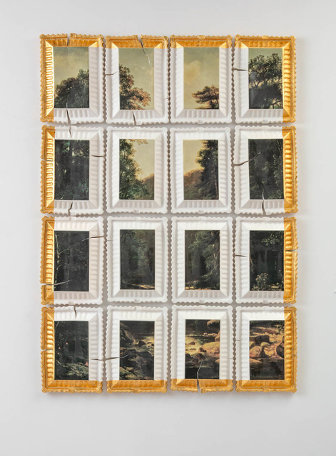 , 'Preservation & Use #3 (Landscape with River, George Hetzel, 1880),' 2018, Ferrin Contemporary